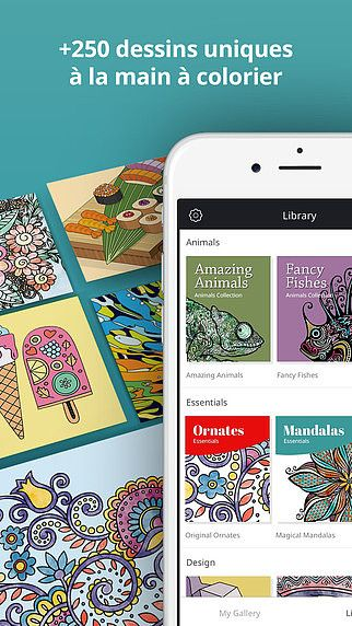 Recolor - Livre de coloriage pour adultes pour mac
