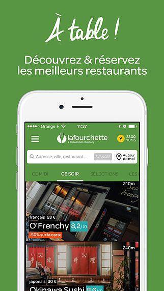 LaFourchette Restaurants pour mac