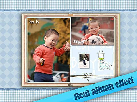 Baby Album for iPad pour mac
