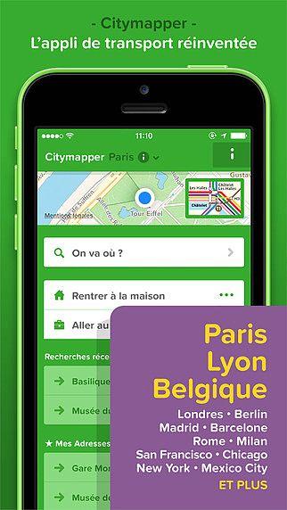 Citymapper - horaires et itinéraires des transports en commun po pour mac