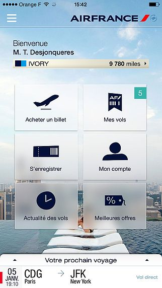 Air France Mobile pour mac
