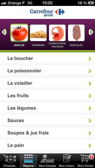 Carrefour Drive pour mac
