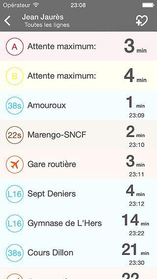 Toulouse Bus : Métro, Bus et Tram à Toulouse pour mac