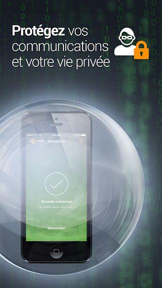 SecureLine VPN - Bouclier de sécurité WiFi et de confidentialité pour mac