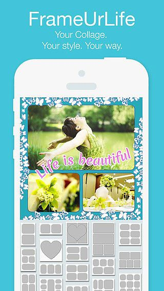 FrameUrLife - Picture Frames   Photo collage pour mac