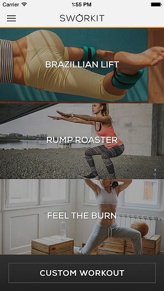 Butt Sworkit - Free Workout Trainer to tone, tighten, and lift pour mac