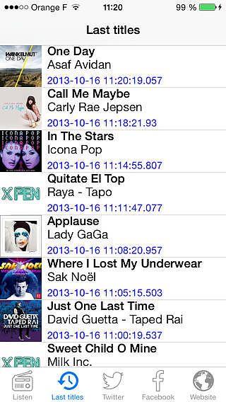 XPen-Radio : Mix, Dance, Club pour mac