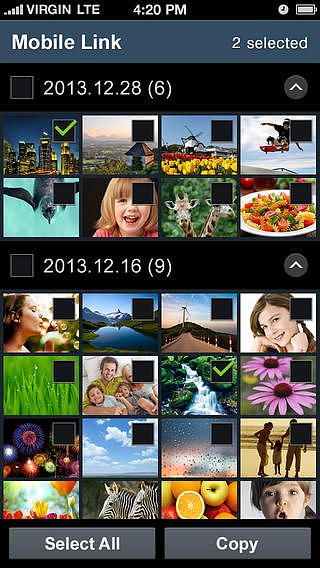 Samsung SMART CAMERA App pour mac