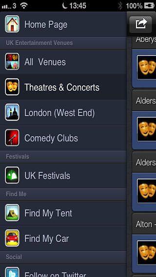 UK Entertainment Venues pour mac