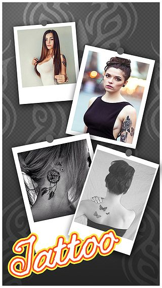 Tattoo Designs -  Body Art Inked Photo Editor, Color Effects Boo pour mac