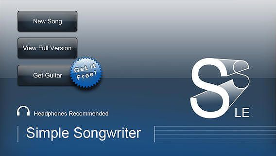 Simple Songwriter LE: Free Song Writing Assistant pour mac