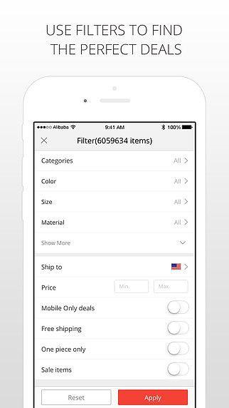 AliExpress Shopping App pour mac