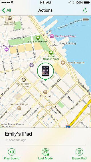 Localiser mon iPhone pour mac