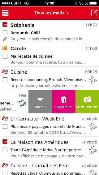 SFR Mail pour mac