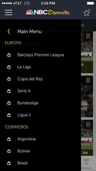 NBC Deportes pour mac