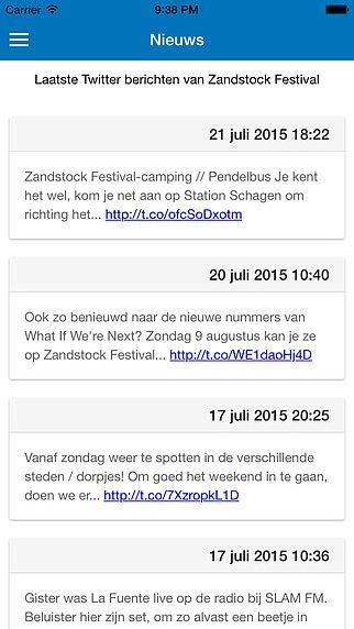Zandstock Festival pour mac