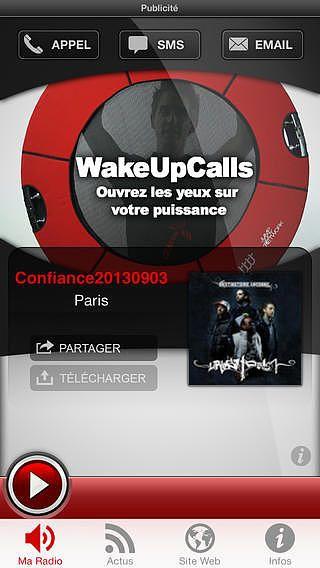 WakeUpCalls pour mac