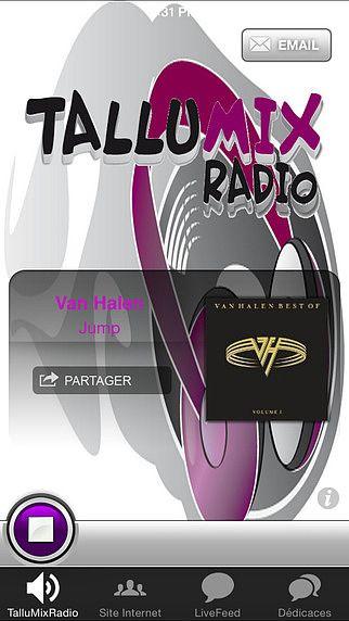 TalluMixRadio pour mac