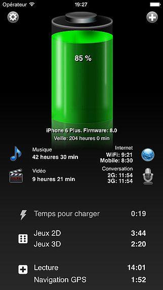 Batterie HD Gratuite pour mac