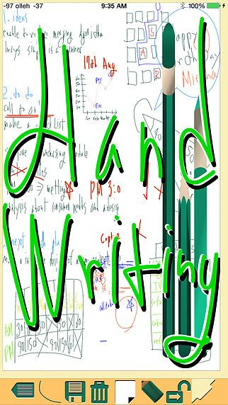 Handwriting - écriture, dessin, notes pour mac