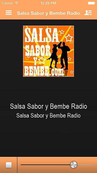 Salsa Sabor y Bembe Radio pour mac