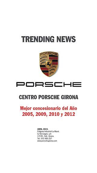 TRENDING NEWS CENTRO PORSCHE GIRONA pour mac