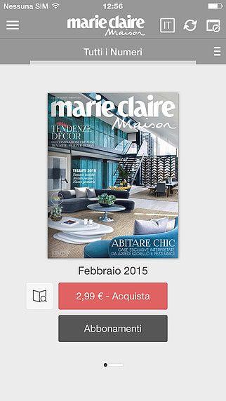 Marie Claire Maison Italia pour mac