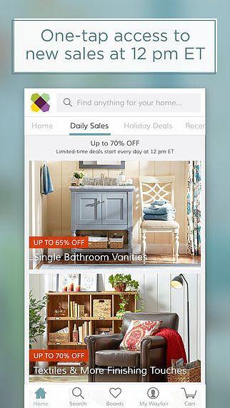 Wayfair - Furniture, Home Décor, Daily Sales  pour mac