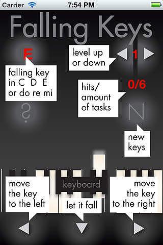 Falling Keys pour mac