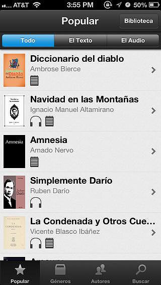 Libros y Audiolibros Gratis pour mac