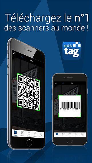 Mobiletag Flashcode, Lecteur et Generateur de QR Code pour mac