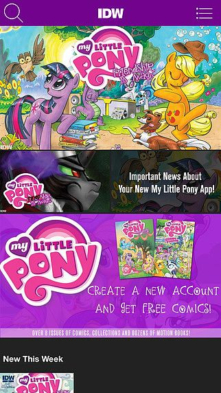 My Little Pony Comics pour mac