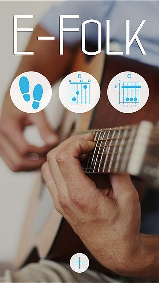 E-Folk: Acoustic Guitar for beginners pour mac