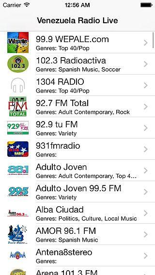 Venezuela Radio Live Player (Caracas / Spanish / español) pour mac