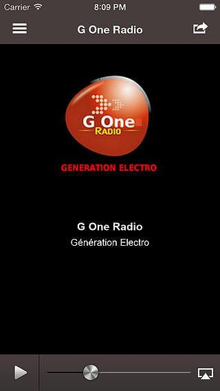 G One Radio pour mac
