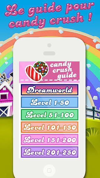 Guide pour Candy Crush Saga pour mac