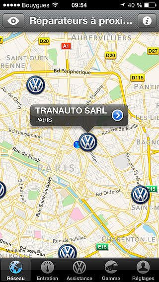 Volkswagen Service pour mac