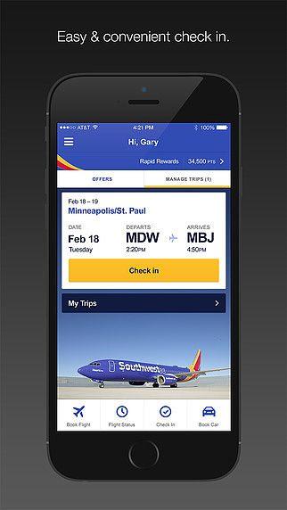 Southwest Airlines pour mac