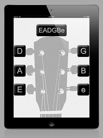 Accordeur de Guitare pour mac