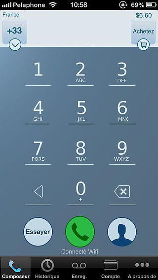 Enregistrement des appels - IntCall pour mac