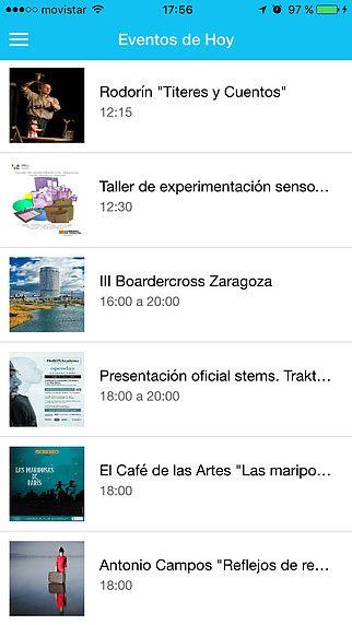 LaAgendica - Agenda cultural de Zaragoza pour mac