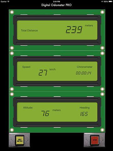 Odomètre Digital PRO pour mac