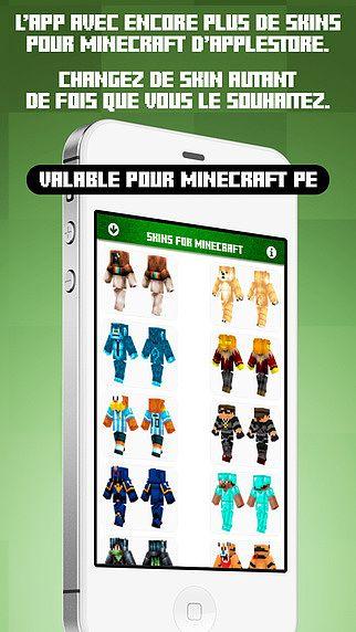 Skins pour Minecraft PE  pour mac