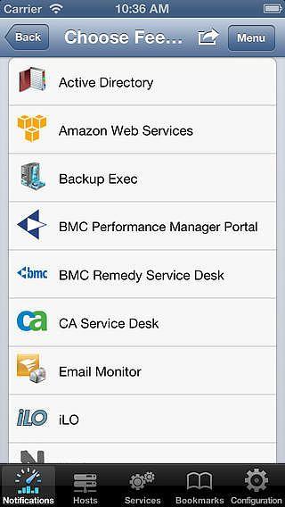 SolarWinds Mobile Admin Client pour mac