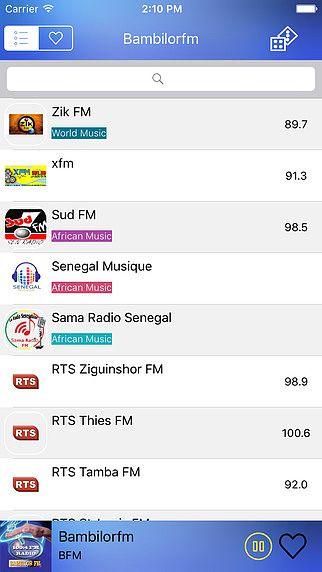 Radio - Senegal Radio LIve Stream pour mac