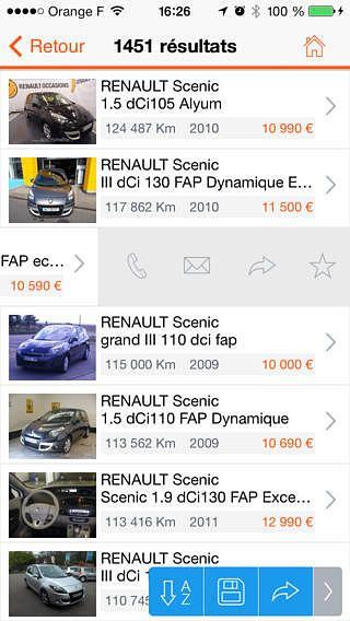 AutoReflex - annonces autos pour mac