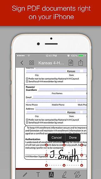 PDF Forms pour mac