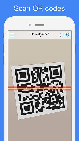 QR Reader for iPhone pour mac