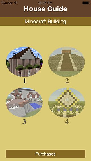 Houses For Minecraft: Step-By-Step Blueprints pour mac