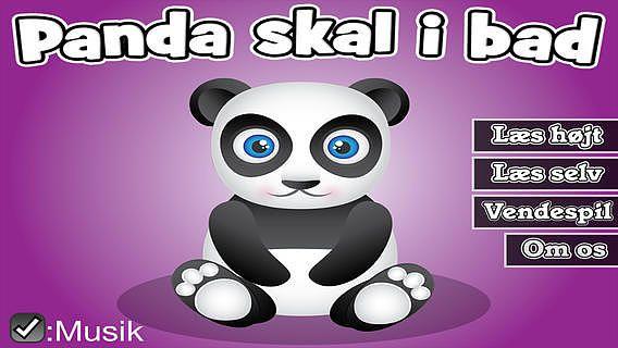 Panda skal i bad pour mac